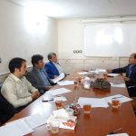 جلسه تخصصی هیئت مدیره استان با اعضای هیأت دفتر نمایندگی شهرستان شیروان