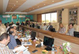 گزارش برگزاری اولين جلسه هم پيرامون نحوه ارجاع خدمات مهندسی مورخ هشتم شهریور نود و شش