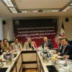 نشست سازمان نظام مهندسی ساختمان ایران و سندیکای مهندسان سوریه