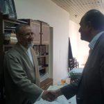 گزارش تصویری بازدید رئیس سازمان از روزنامه اطلاعات