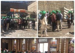 بازديد عضو های نمايندگي سازمان نظام مهندسي ساختمان شهرستان سبزوار