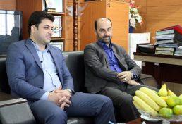 بازدید ریاست نظام مهندسی ساختمان خوزستان از پروژه عمرانی فرودگاه