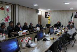 نشست با مدیر عامل ، معاونان و مدیران شرکت گاز البرز
