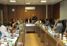 هشتاد و هفتمین نشست هیات مدیره دوره سوم سازمان