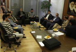بازدید نایب رییس شورای اسلامی شهر کرج از نظام مهندسی ساختمان البرز