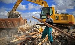عدم تخریب ساختمان های قانون مند در زلزله