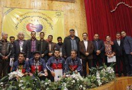 تیم مازندران فاتح رقابتهای سومین دوره مسابقات تنیس روی میز