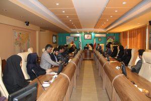 برگزاری نشست هم اندیشی رئیس سازمان نظام مهندسی ساختمان استان