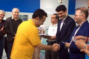 نتایج مسابقات شنا عضوهای سازمان نظام مهندسی ساختمان استان خوزستان