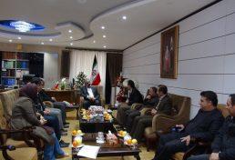 ملاقات هیات مدیره سازمان نظام مهندسی ساختمان استان کردستان با مرادنیا