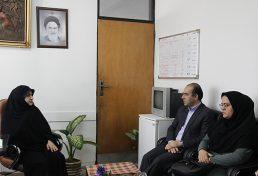دیدار ریاست و نایب رئیس سازمان نظام مهندسی ساختمان استان مازندران با مدیر کل امور بانوان استان مازندران
