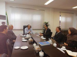 ملاقات هیات مدیره سازمان استان با معاون سیاسی- امنیتی استانداری