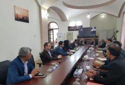 دیدار اعضا هیئت مدیره سازمان نظام مهندسی ساختمان خراسان جنوبی با شهردار