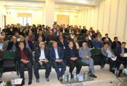 برگزاری گردهمایی تخصصی رفتار والزامات لرزه ای قابهای مهاربندی و خمشی فولادی