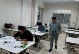 برگزاری آزمون سراسری نظام مهندسی در واحد میانه