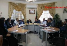 برگزاری سومین نشست رسمی کمیسیون عمران و سرمایه گذاری شورای اسلامی شهرستان لارستان