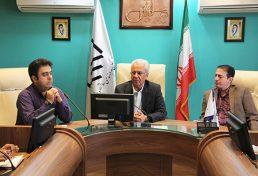 نشست رئیس سازمان نظام مهندسی ساختمان استان اصفهان