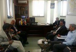 نشست مشترک رئیس سازمان نظام مهندسسی ساختمان استان کرمان