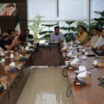 جلسه نمایندگان آزمایشگاه های فنی کنترل کیفی مصالح ساختمانی استان