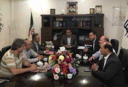 بررسی مشکلات ساخت و ساز در ماهدشت در دیدار نایب رییس سازمان