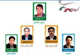حسین عباسی بعنوان ریاست سازمان نظام مهندسی ساختمان استان