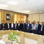 دیدار ریاست و منتخبین هیات مدیره دوره چهارم سازمان نظام مهندسی ساختمان استان