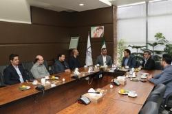 برگزاری جلسه ریاست سازمان نظام مهندسی ساختمان استان قزوین با مدیر کل