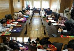 تمرین ایمنی در مقابل زمین لرزه در میان آینده سازان سیستان وبلوچستان