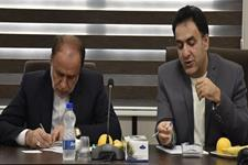 دیدار حاجی بابایی نماینده مردم همدان در مجلس شورای اسلامی و رییس سازمان