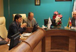 دیدار اعضای هیات مدیره مجمع مهندسان خیر امام علی علیه السلام با رئیس سازمان