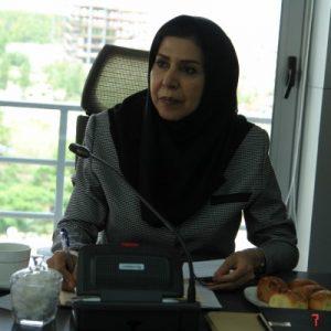 الهه رادمهر عضو هیات مدیره سازمان نظام مهندسی ساختمان استان تهران