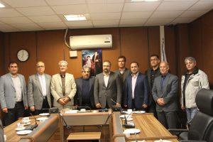 جلسه هیات رییسه اتاق اصناف استان البرز با هیات رییسه سازمان