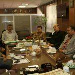 دیدار رییس سازمان نظام مهندسی ساختمان استان البرز با مدیرکل آموزش فنی و حرفه ای