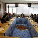 برگزاری نشست اعضای هیات مدیره سازمان نظام مهندسی استان اردبیل با فرماندار اردبیل