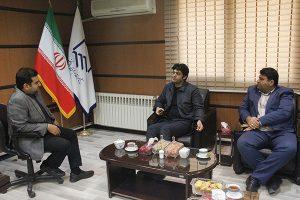 بازدید دامادی از سازمان نظام مهندسی ساختمان استان مازندران