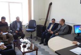 استقرار دفتر نمایندگی و بازرسی گاز سازمان نظام مهندسی ساختمان استان