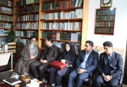 دیدار رئیس سازمان نظام مهندسی ساختمان استان زنجان و برخی از اعضای هیات مدیره