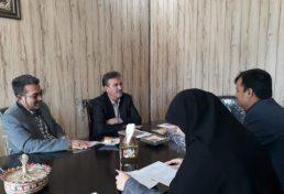 رسیدگی به امور دفتر نمایندگی سازمان در شهرستان بافق