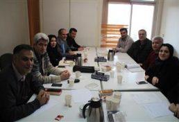 تشکیل نشست گروه تخصصی معماری شورای مرکزی