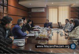 دیدار رئیس سازمان هواشناسی مازندران با رئیس و هیأت رئیسه سازمان