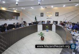 برگزاری دهمین نشست هیأت مدیره سازمان نظام مهندسی ساختمان استان مازندران
