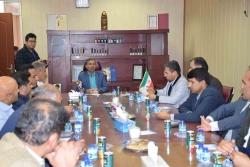 بازدید کمیته کنترل کیفیت مصالح ساختمانی استان کهگیلویه و بویر احمد