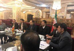حضور ریاست مرکز تحقیقات راه، مسکن و شهرسازی در جلسه هم اندیشی