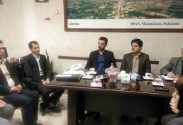 جلسه مشترک نمایندگان سازمان نظام مهندسی استان، راه و شهرسازی استان
