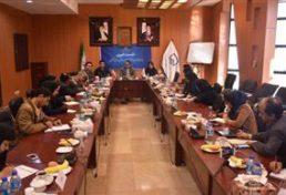 جلسه خبری هیات رییسه سازمان نظاممهندسی ساختمان استان گلستان