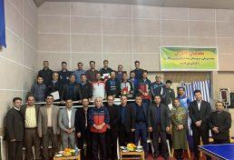 هشتمین دوره مسابقات تنیس روی میز سازمان نظام مهندسی ساختمان استان