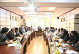برگزاری جلسه مشترک هیئت رئیسه و مدیران سازمان