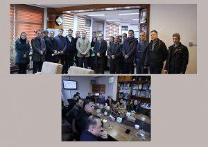 گزارش دیدار اعضای هیات مدیره سازمان نظام مهندسی ساختمان استان