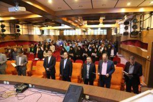 برگزاری مراسم سوگند مهندسی در استان یزد