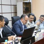 نشست هیئت مدیره سازمان نظام مهندسی یزد در هفته پایانی سال نود و هفت